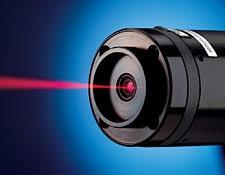 HeNe Laser with Laser Bezel Mounting Plate