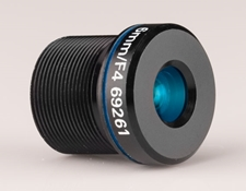 6mm FL Blue Series M12 μ-Video™ Imaging Lens