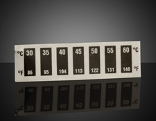 30 - 60°C Temp Range, Liquid Crystal Thermometers (10/Pack)